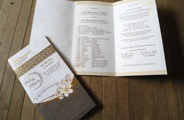 Harga undangan pernikahan